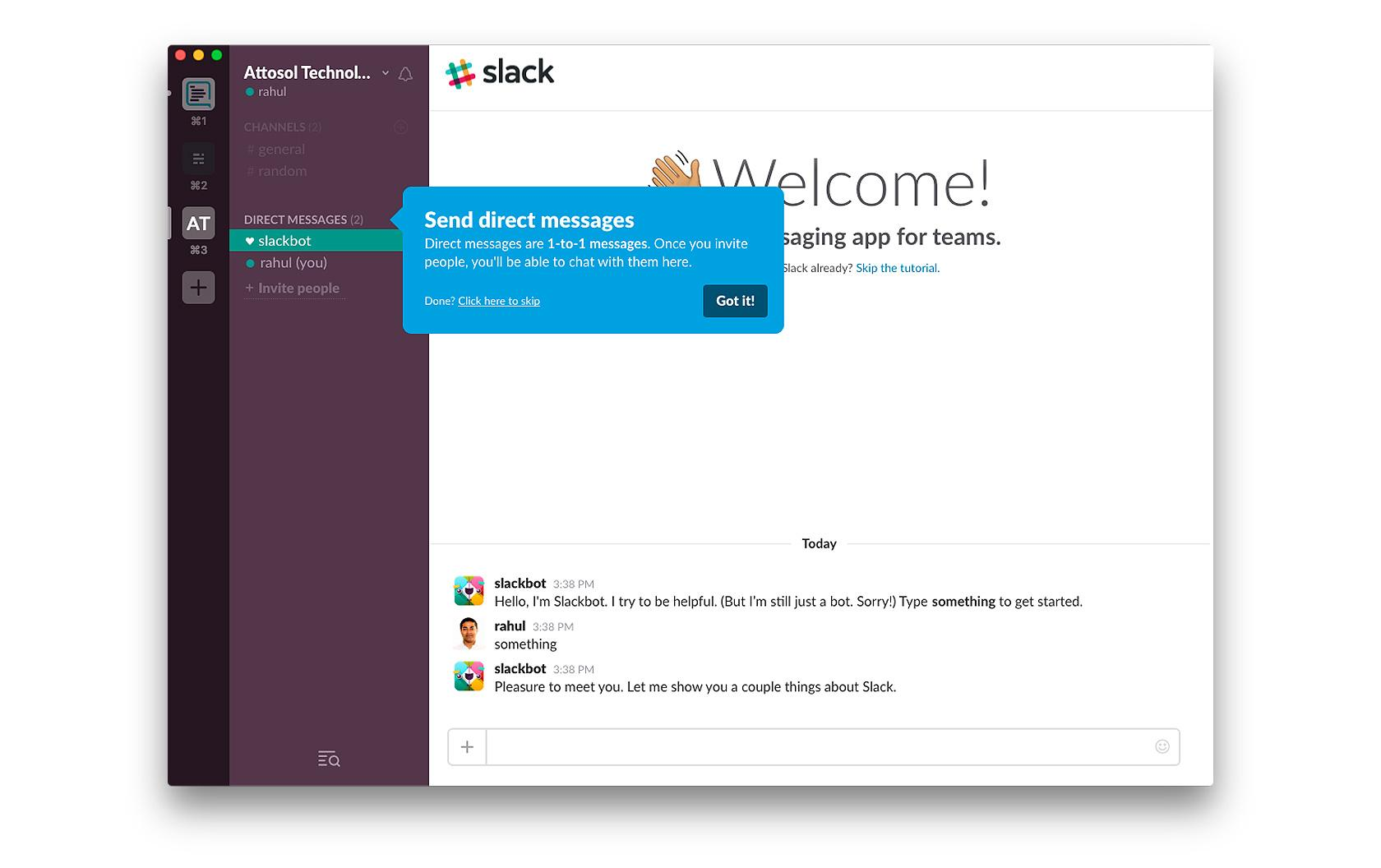 slack's friendly onboarding flow uses tutorial-like game design patterns