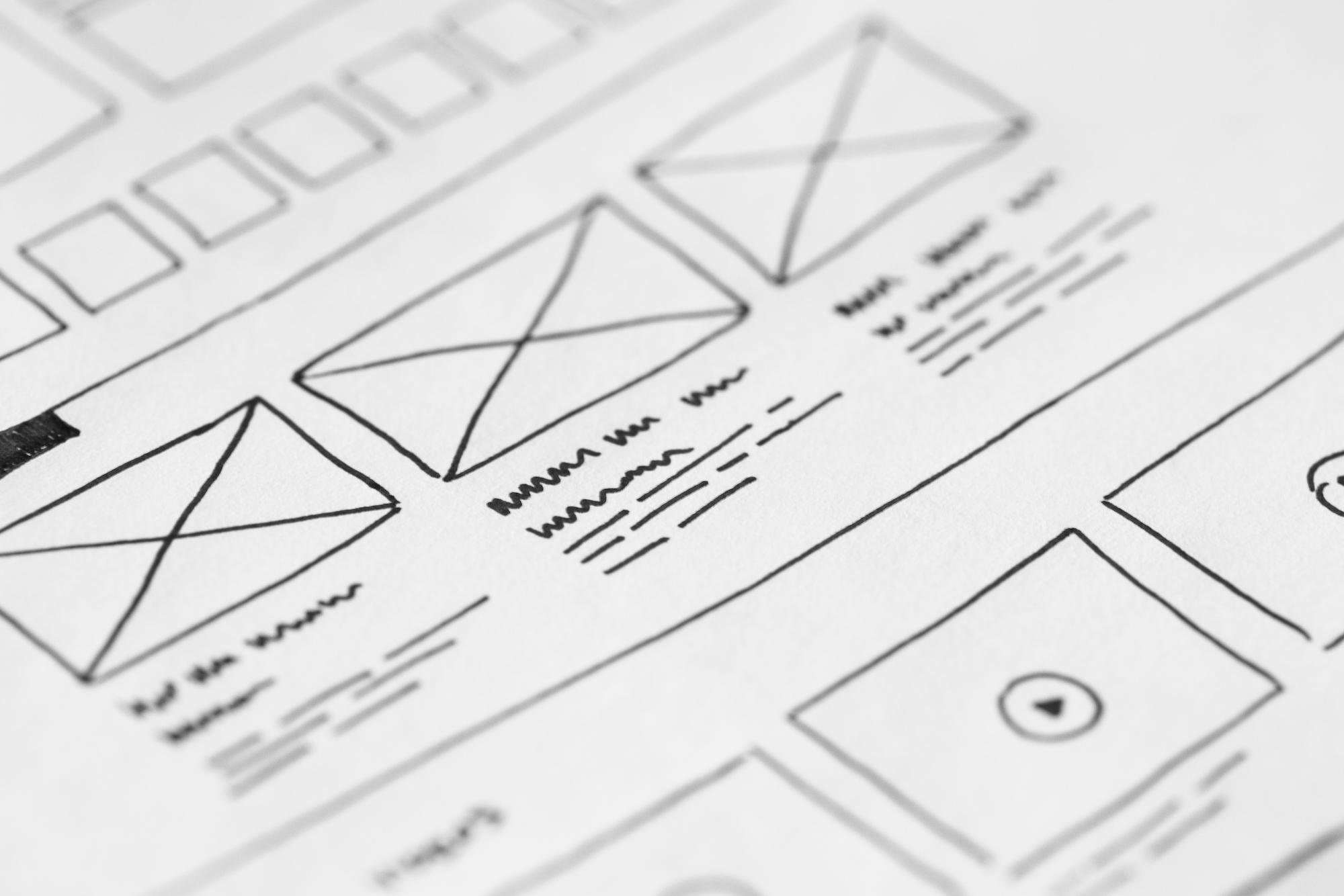 ux wireframes and prototypes