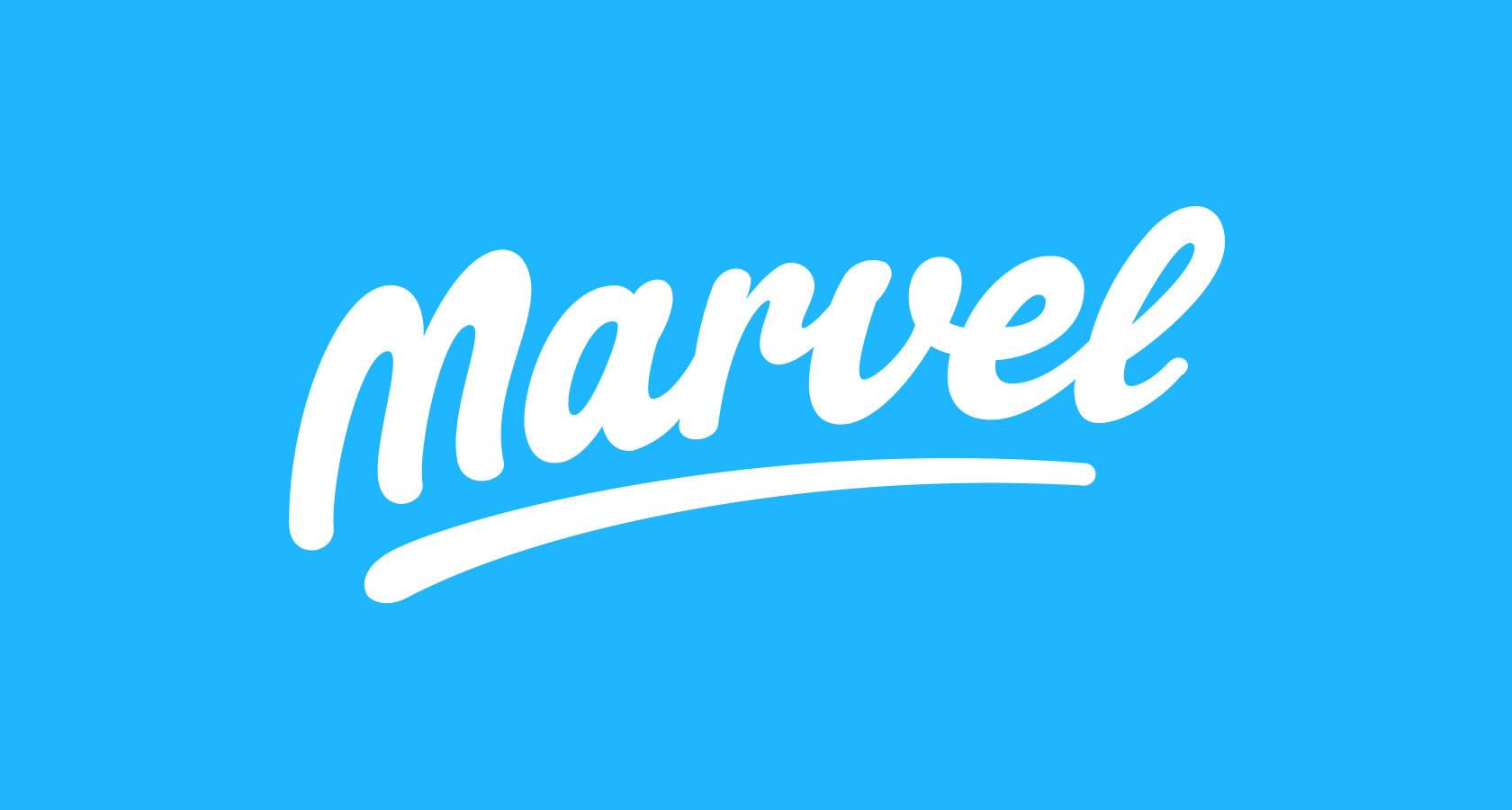 paul von excite marvel logotype