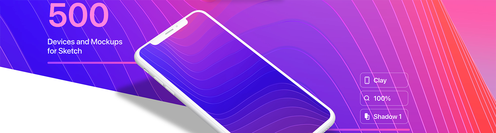Angle 2 includes 500 device mockups for Sketch