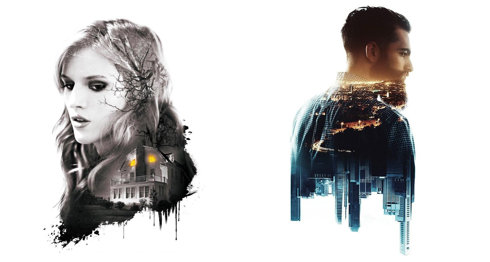 double exposure photography effect graphic design trend