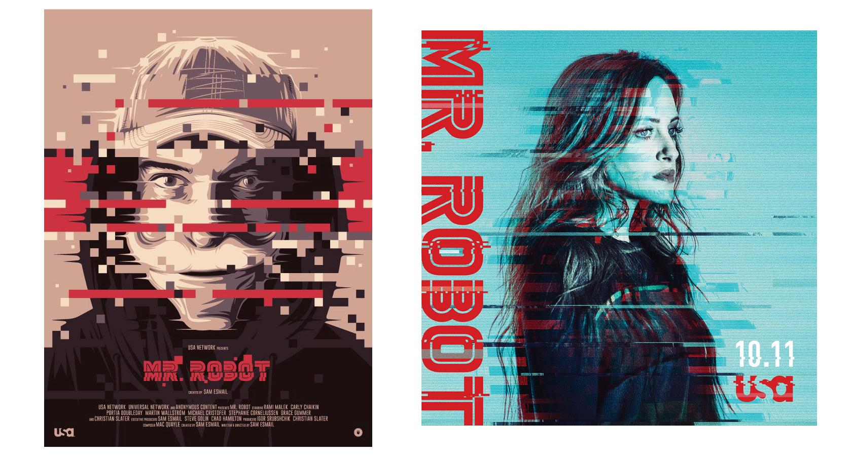 glitch, misprint, visual interference effects graphic design trends