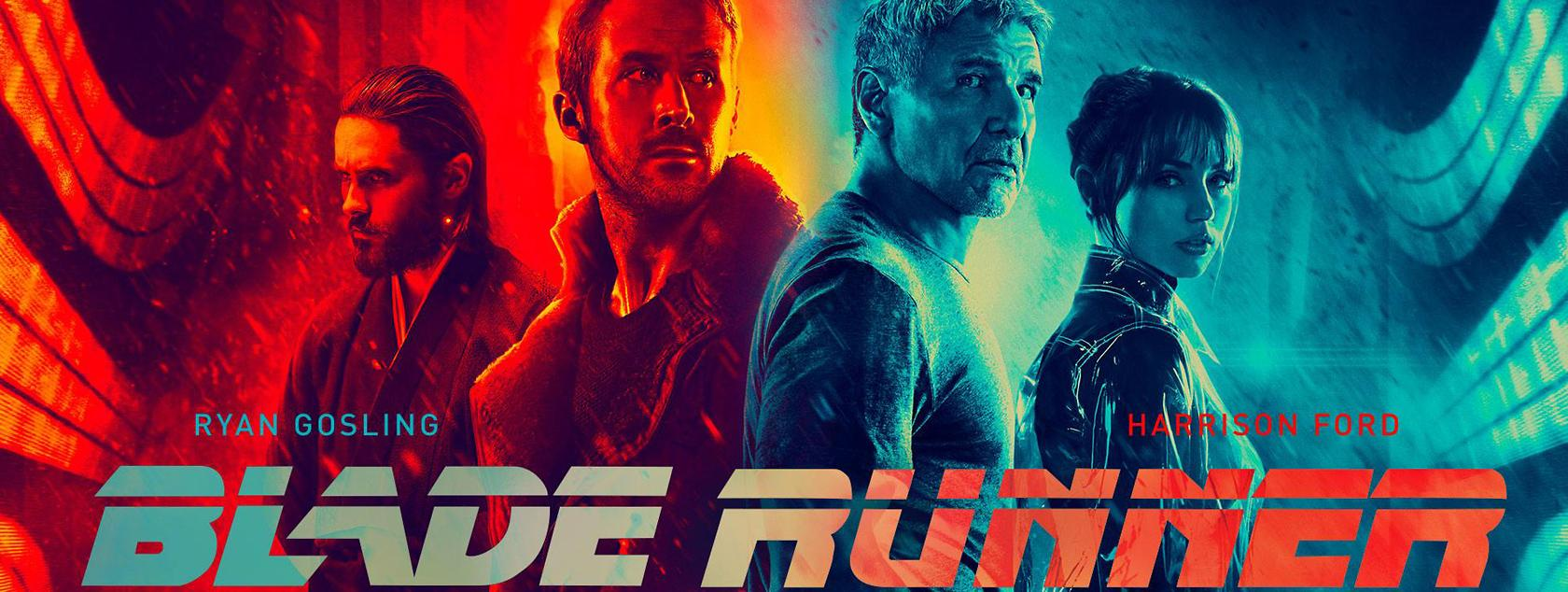 blade runner poster duotone effect follows a graphic design trend