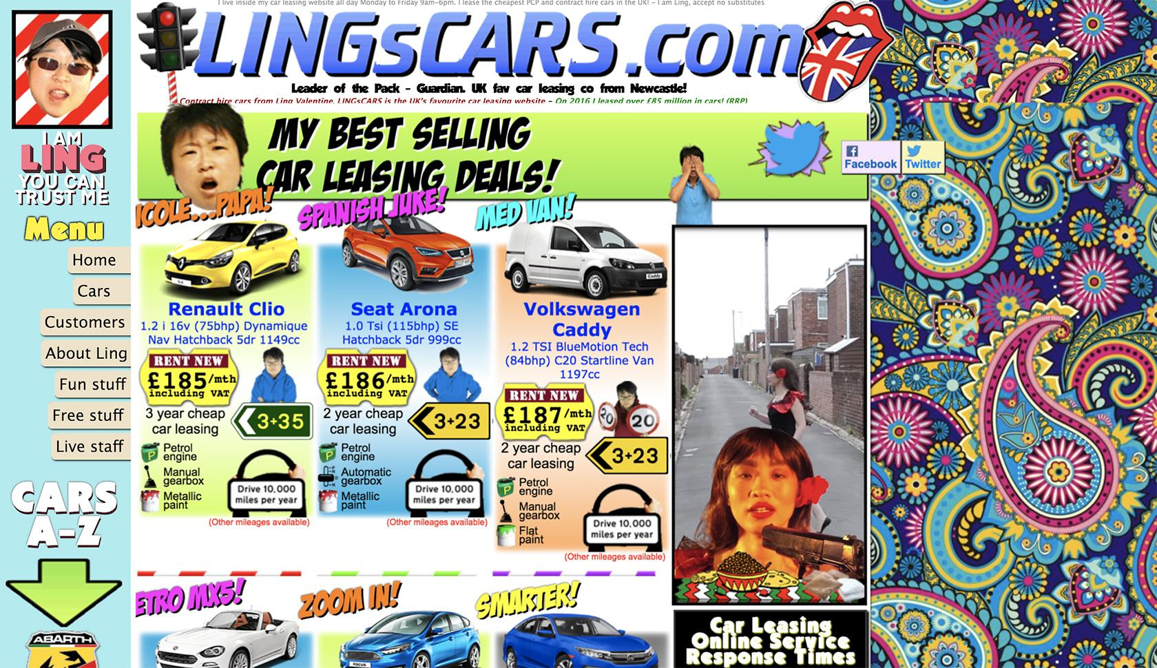 lings cars overwhelms the user with stimuli