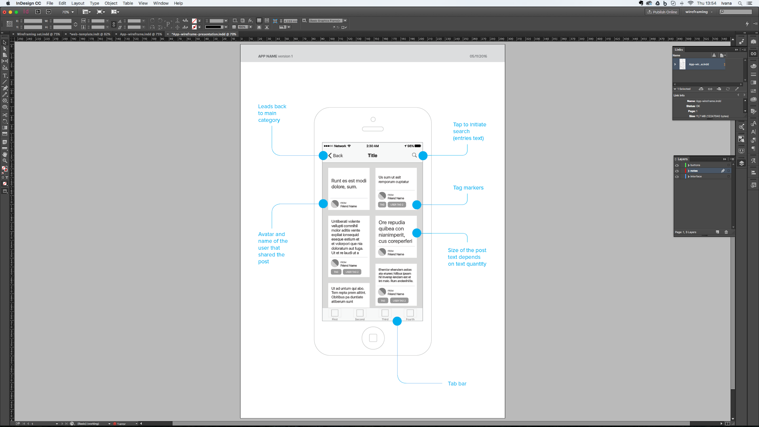 Liquid layouts for Adobe wireframing