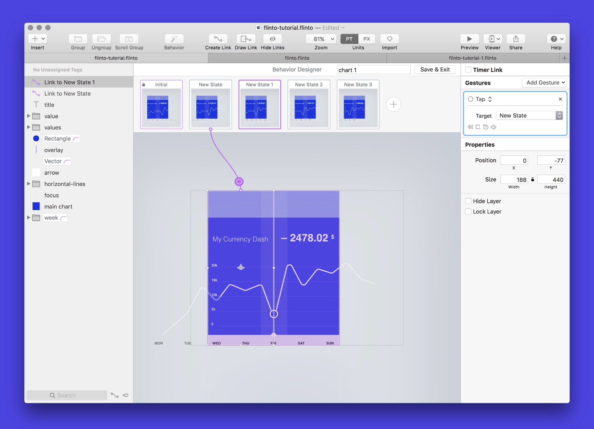 Flinto, one of the cheaper prototyping tools for macOS