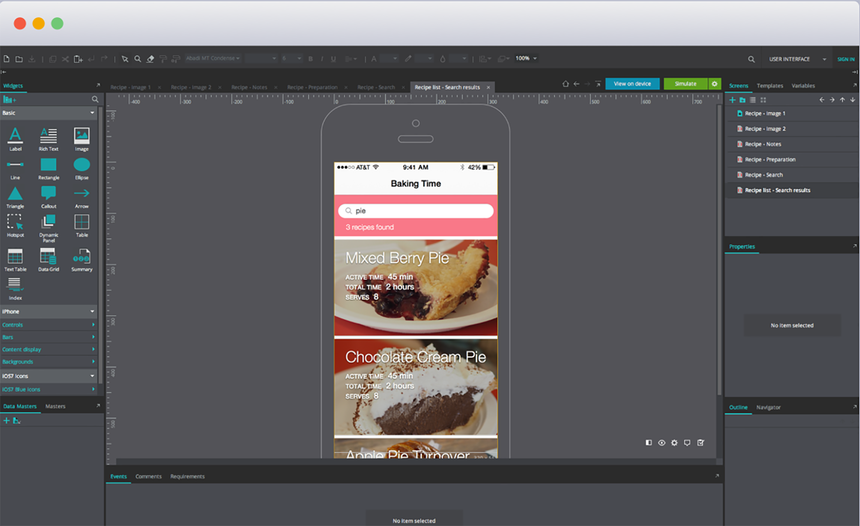 Justinmind, one of the best prototyping tools for wireframing