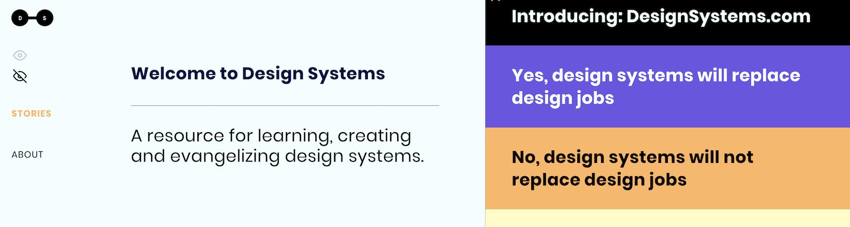 Design System design news