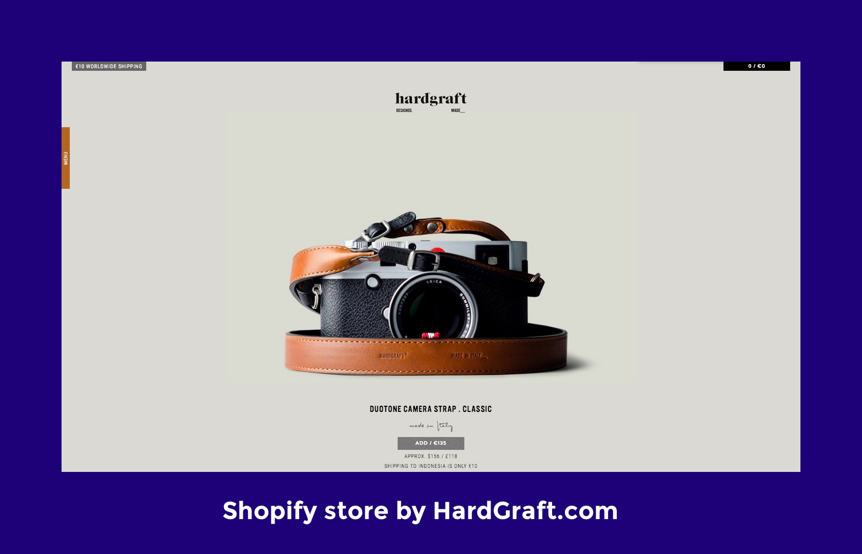 Shopify design tip: Shopify stores with terrific imagery convert better