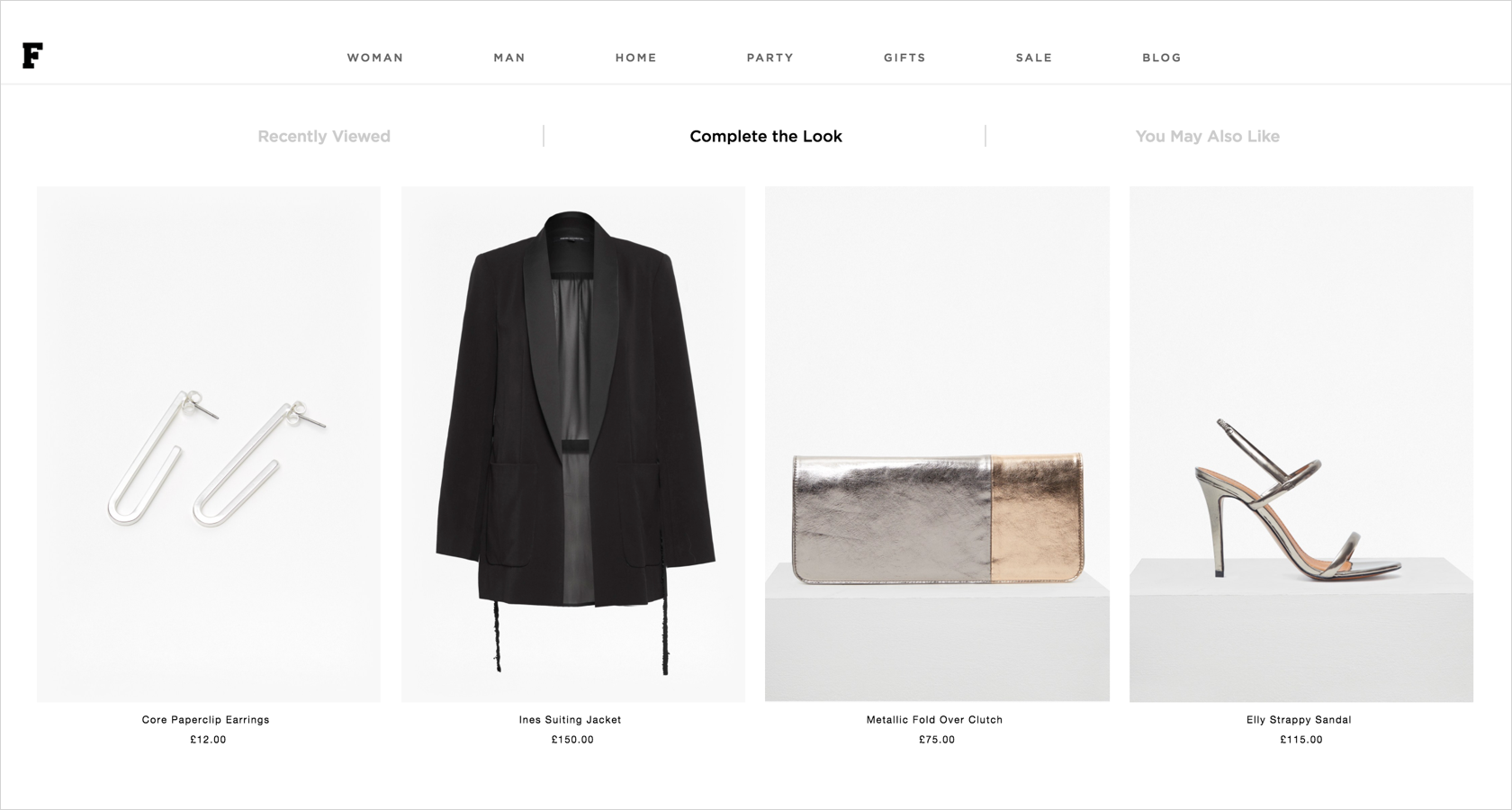 eCommerce product recommendations and related products