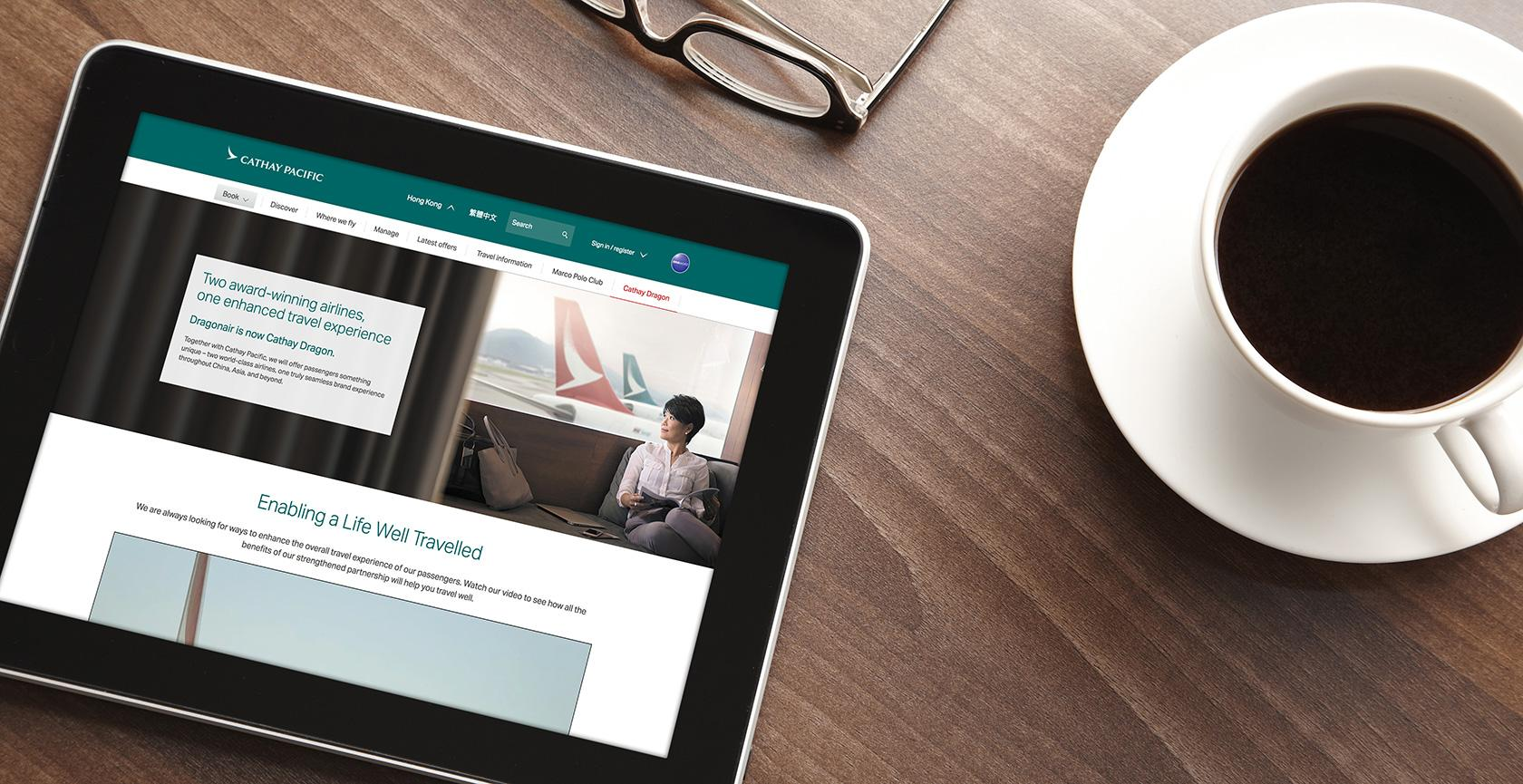 Measuring the ROI of UX with the Cathay Pacific B2B UX redesign case study.
