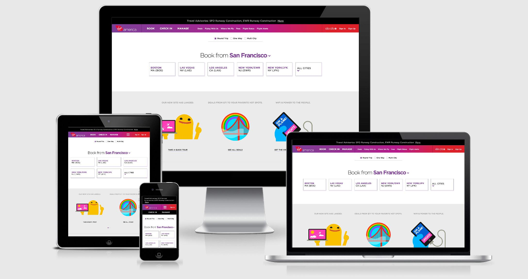Virgin America website redesign ROI of UX case study
