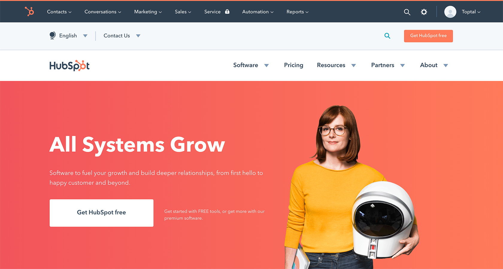Hubspot website redesign UX ROI metrics case study