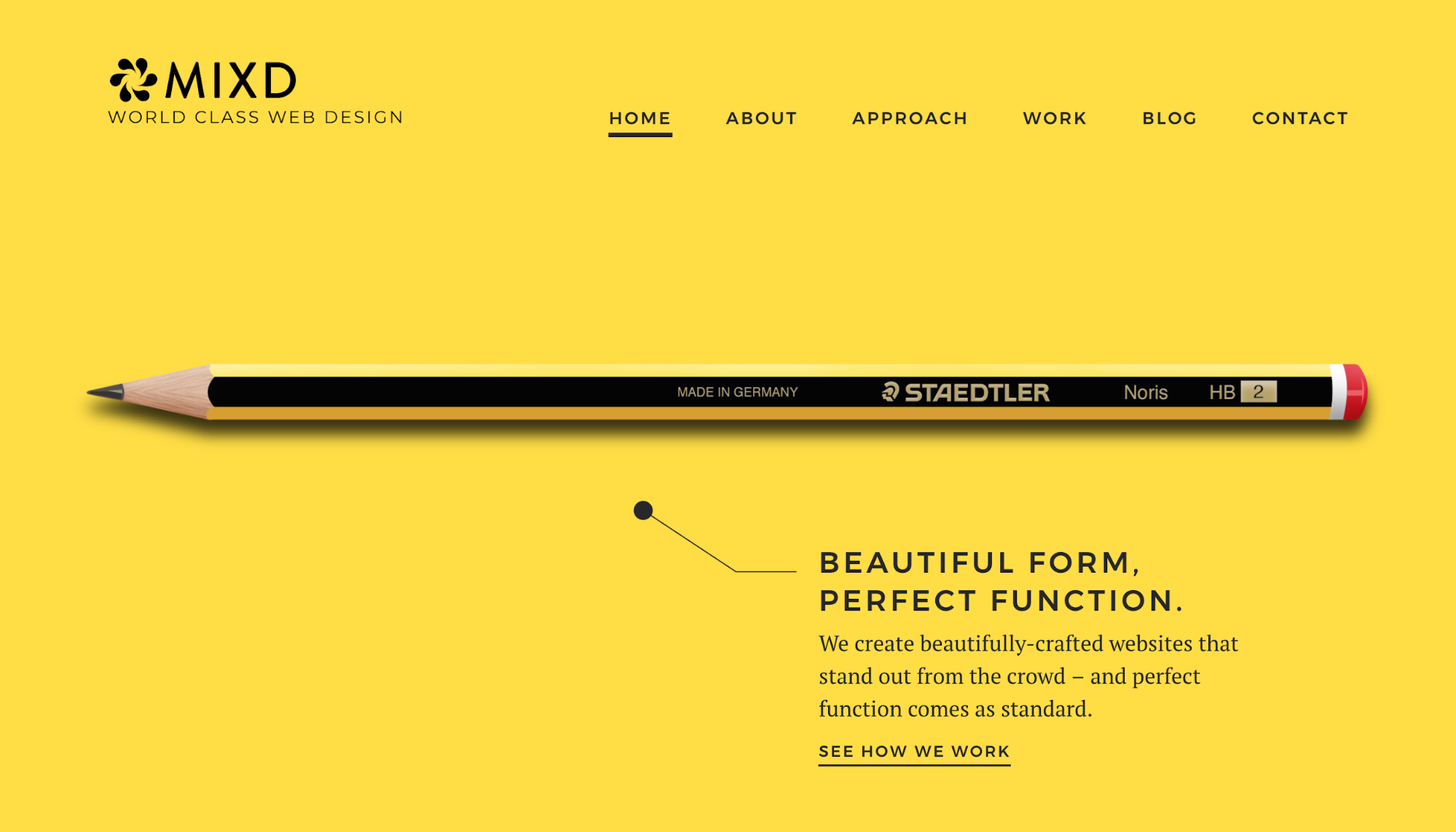 Minimalist web design is one of the many UX design principles.