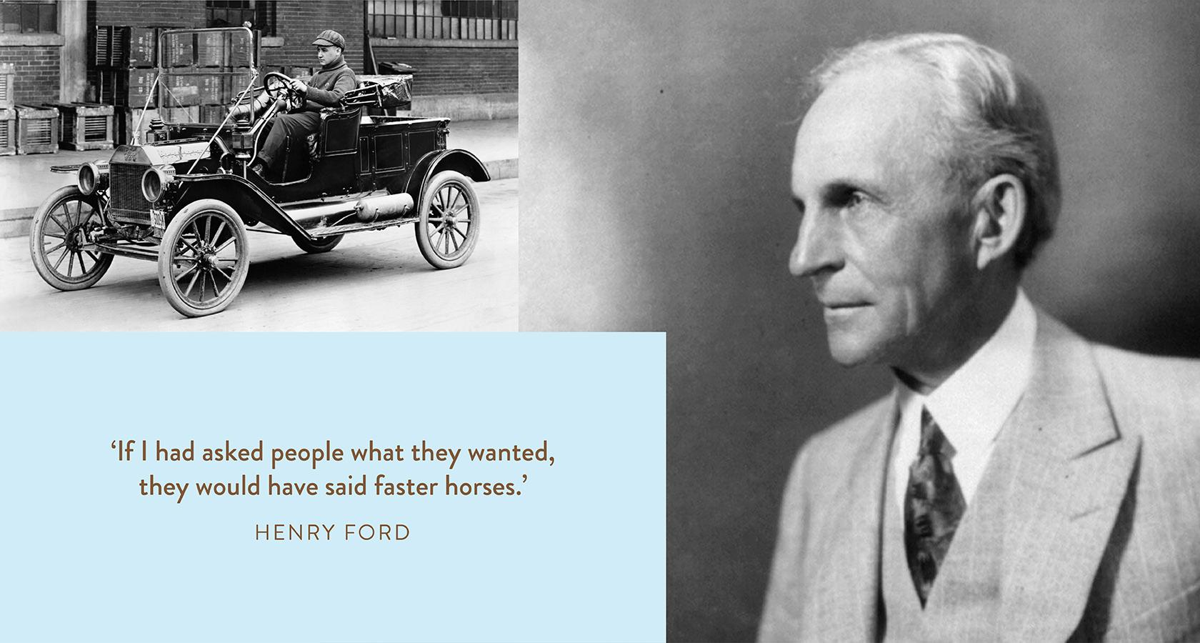 The Model T and its inventor Henry Ford