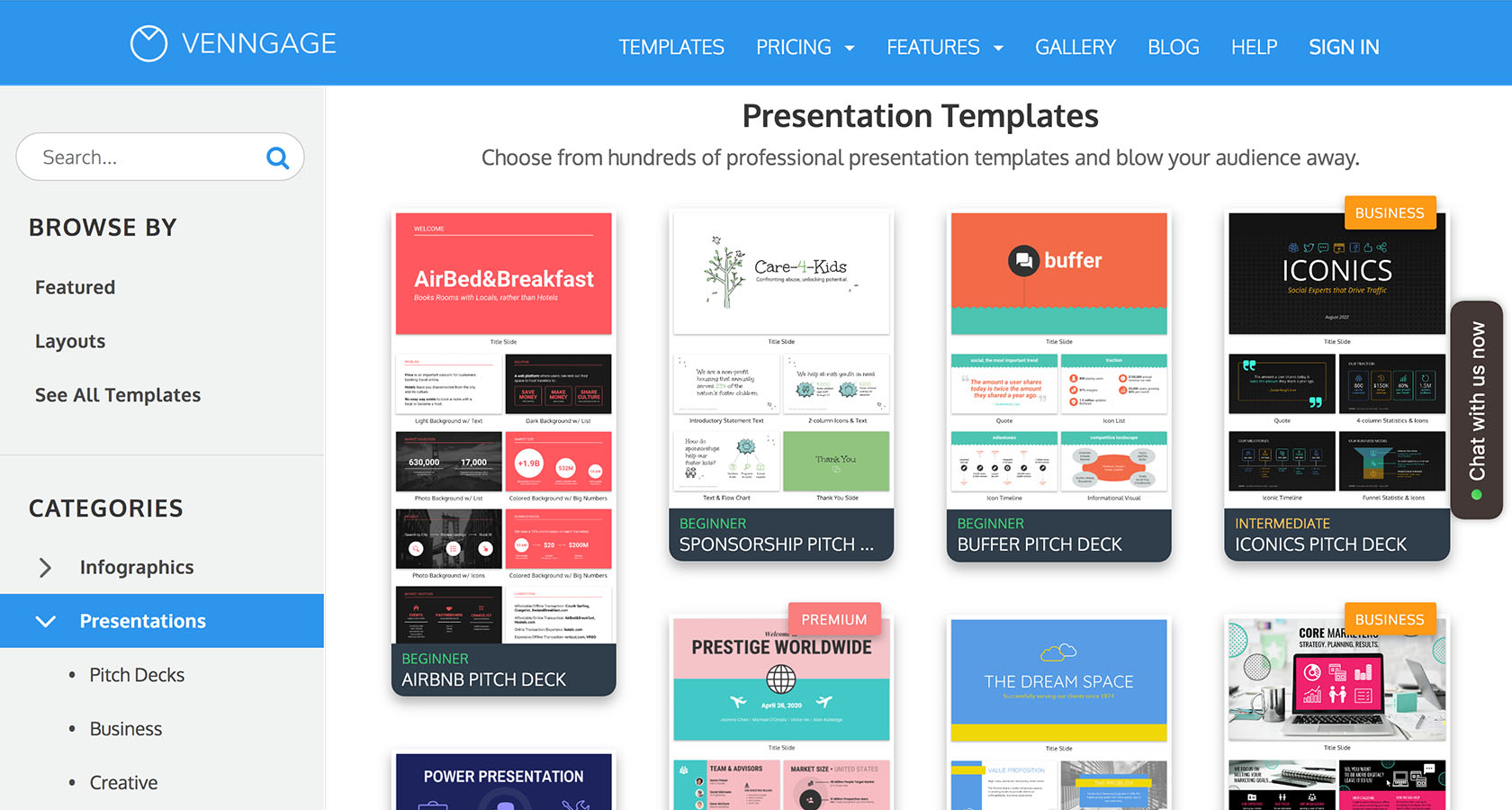 Presentation templates are a good start to great presentation design