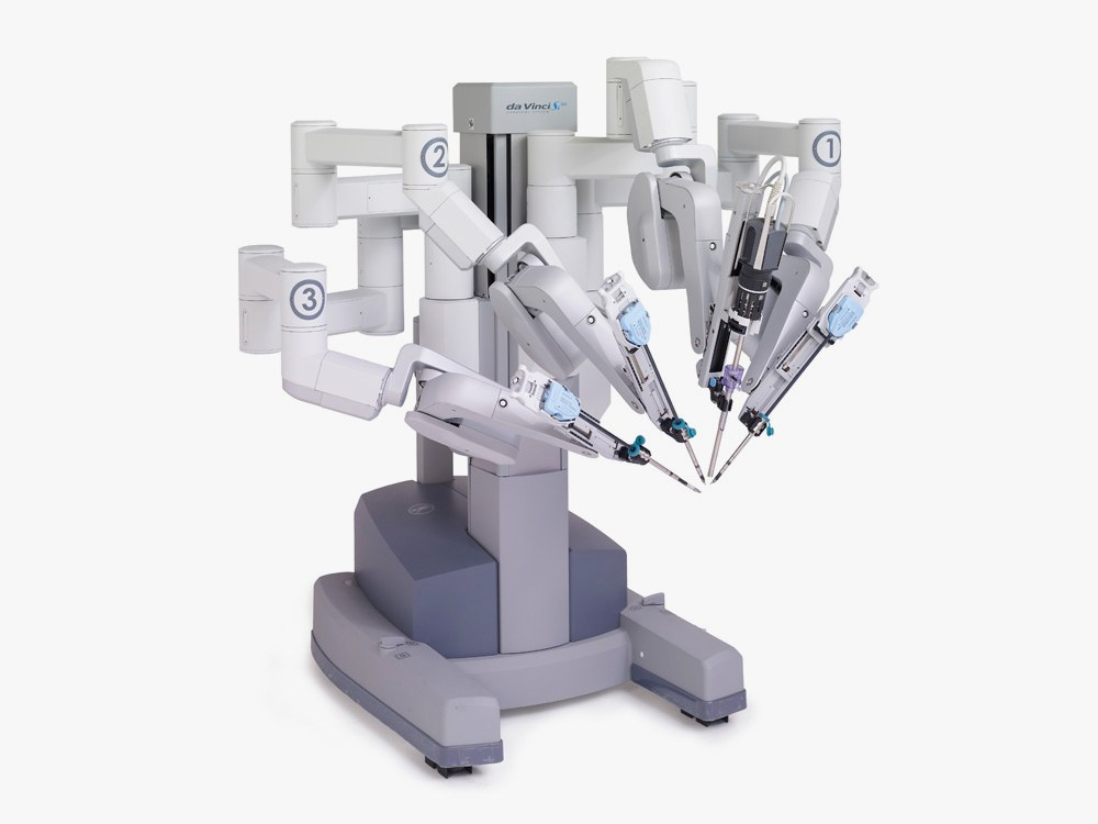 Surgical robot by Intuitive Surgical