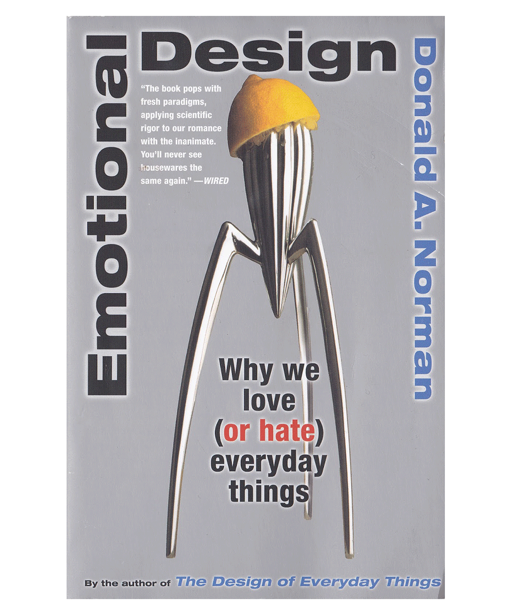 Emotional Design, a book every designer should read