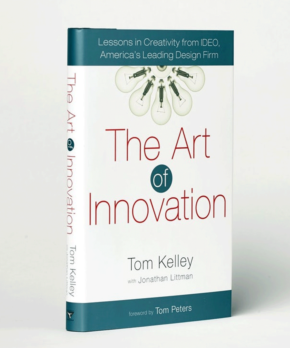 The Art of Innovation, one of the top design books