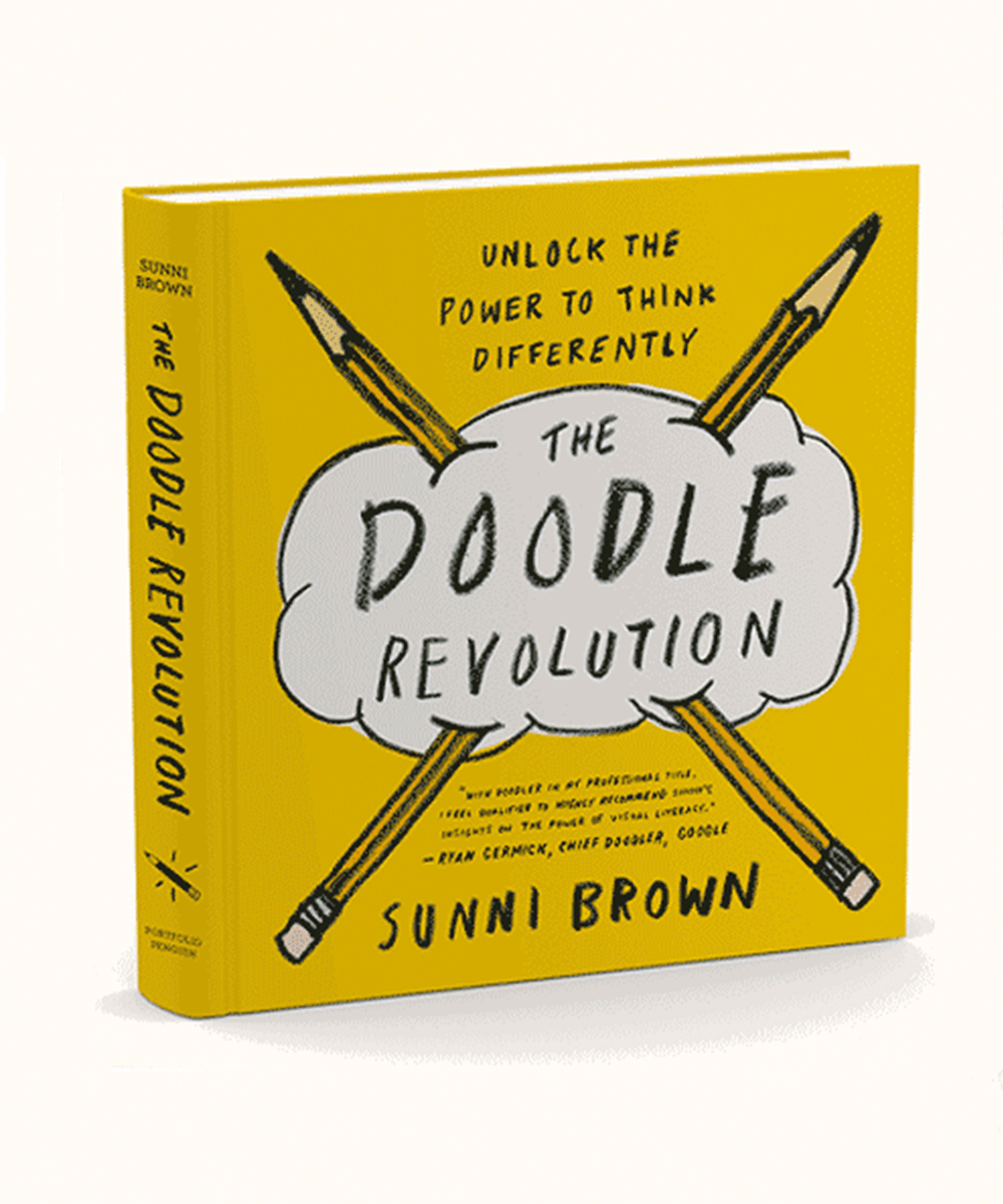 The Doodle Revolution, one of the best books on design