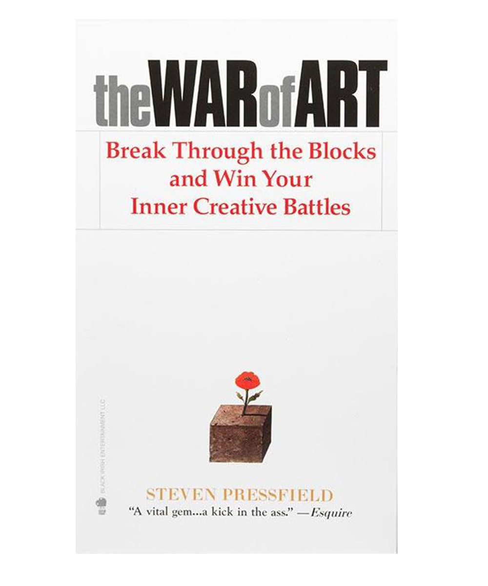 The War of Art, one of the books every designer should read