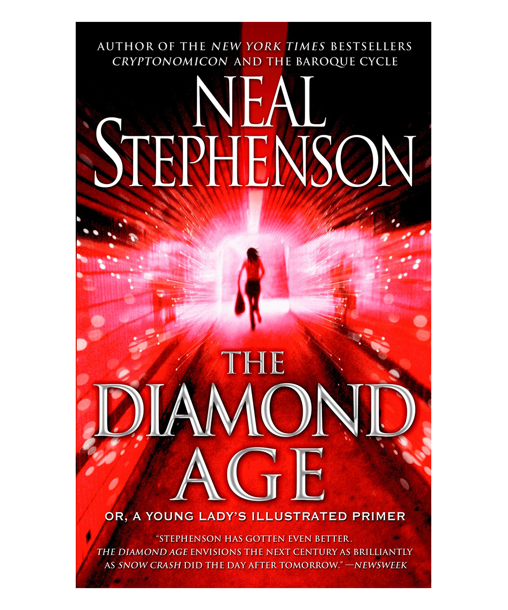 The Diamond Age; sci-fi novels are books every designer should read