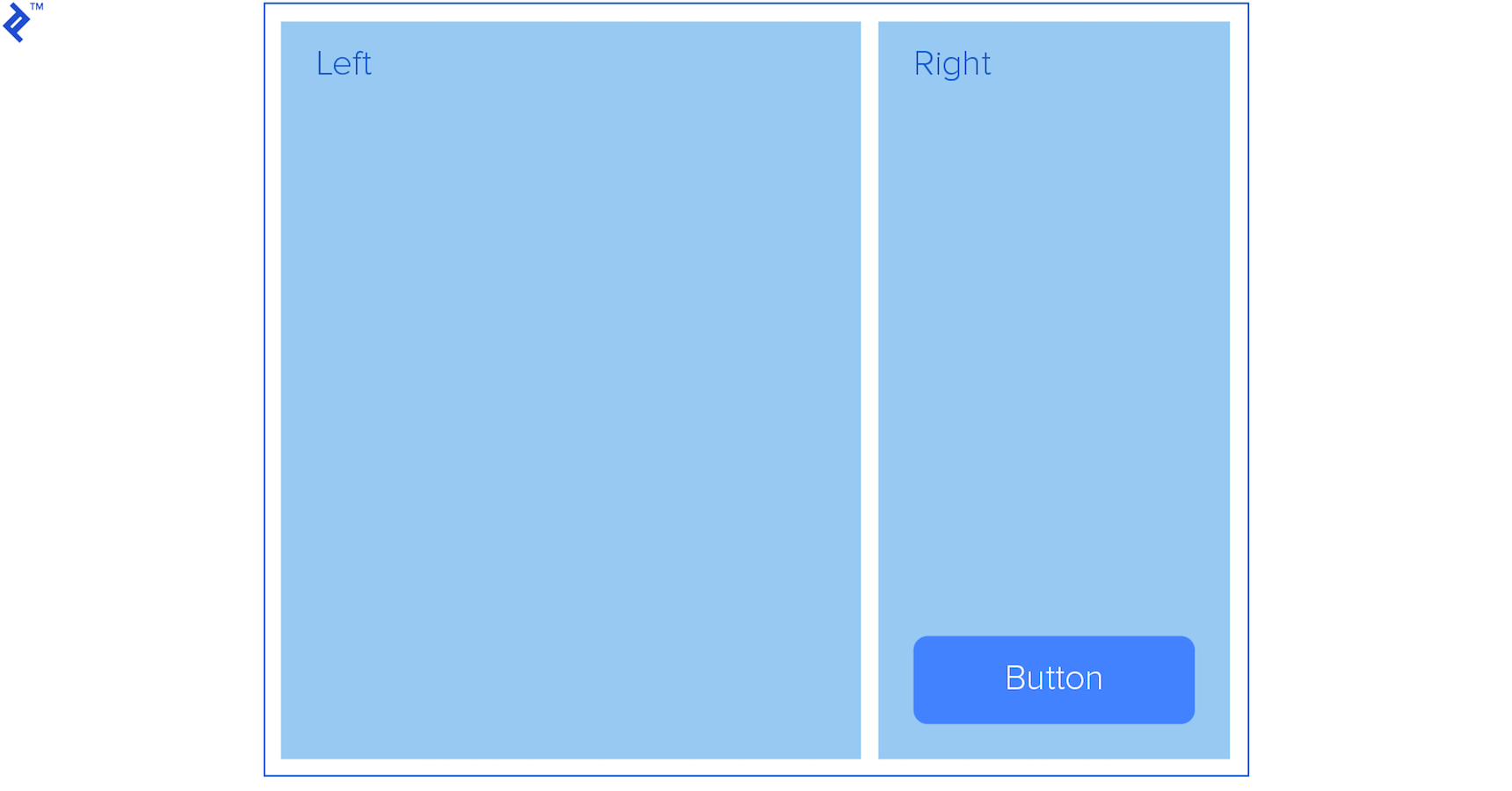 Image of blank css theme layout