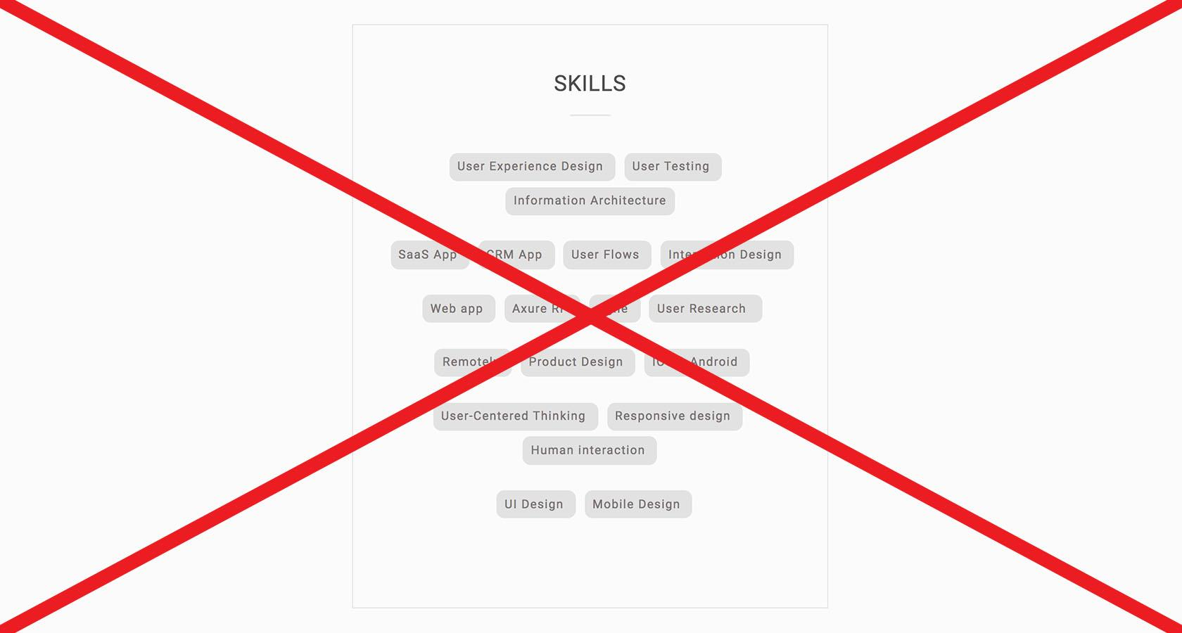 UX design skills and portfolio best practices