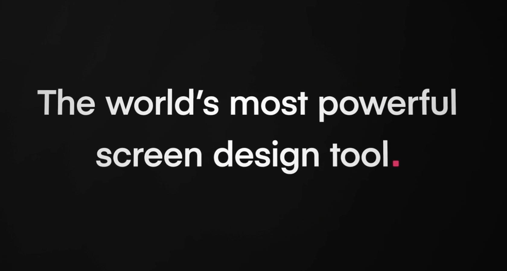 InVision Studio app design tool promise
