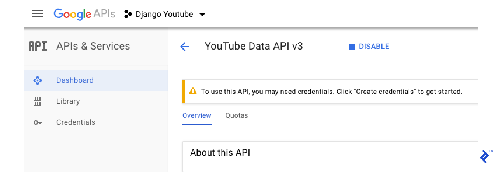 Youtube API Integration: Uploading Videos with Django | Toptal