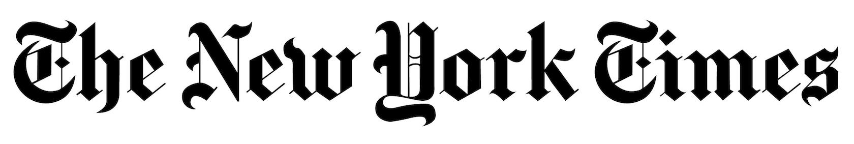 Blackletter typeface styles are popular for newspaper titles.