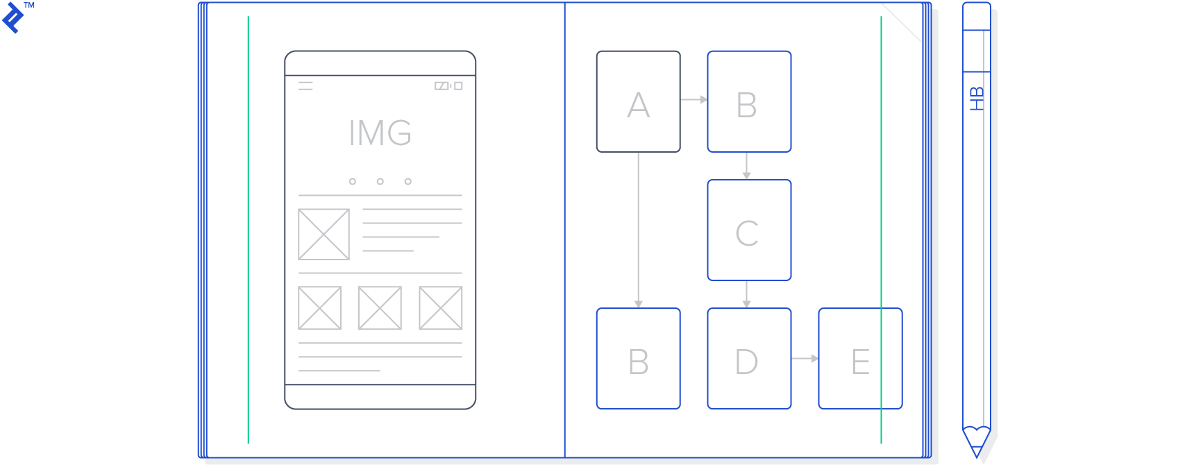 Sample wireframe.