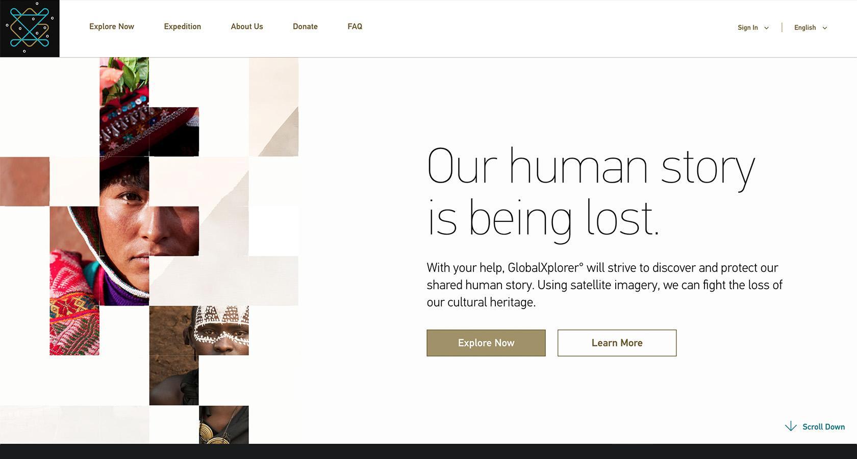 Creative copy interface design