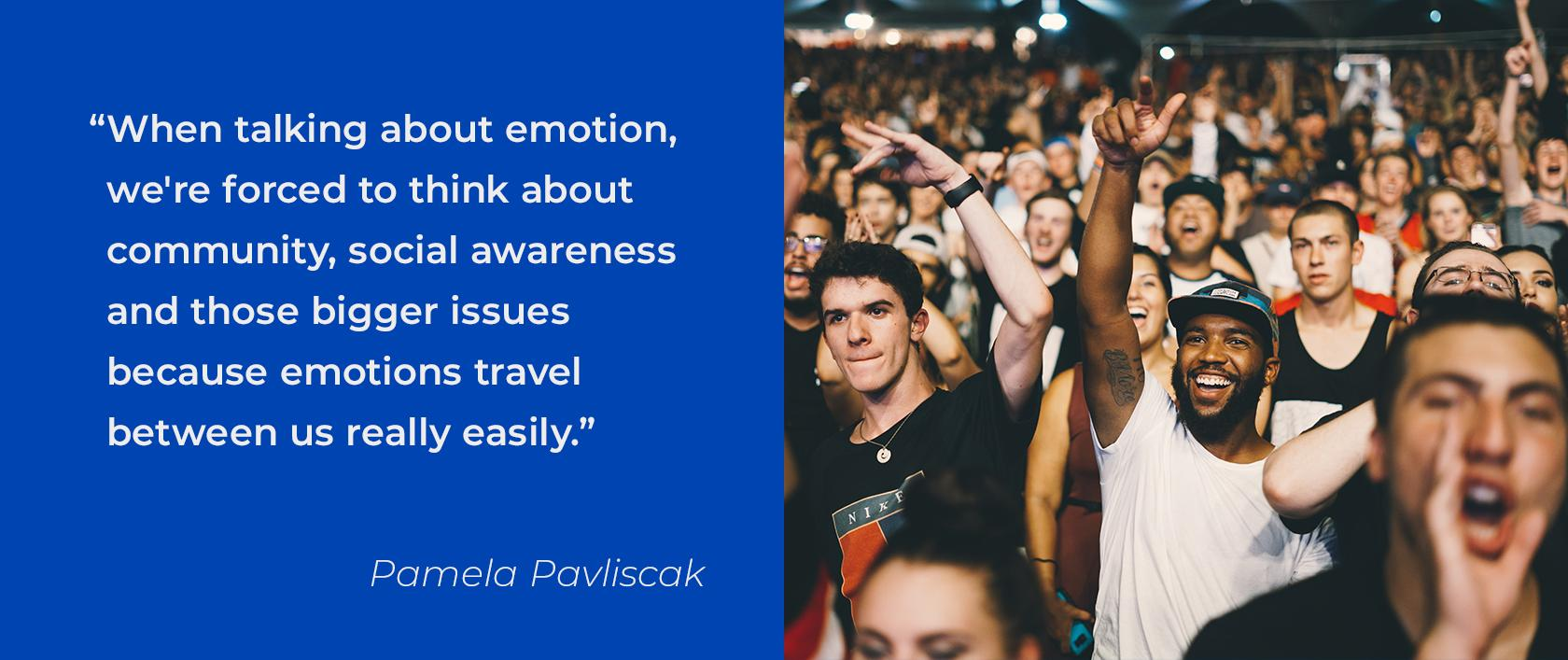 Design Talks: Quote about emotional design of technology by Pamela Pavliscak