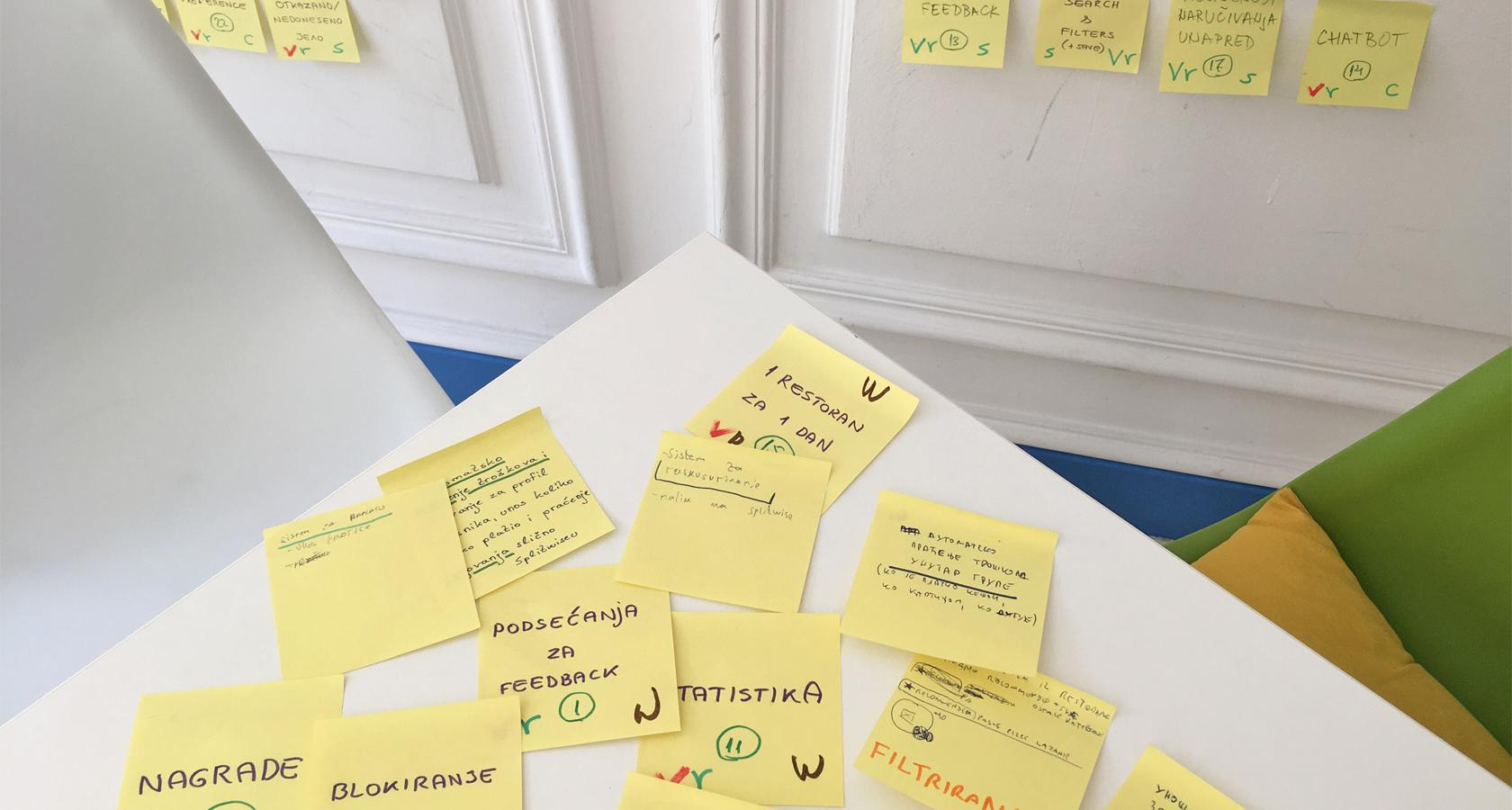 UX design process collaboration to meet user experience goals