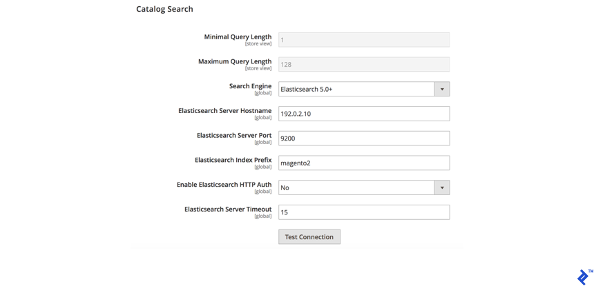 Setting up Elasticsearch in Magento