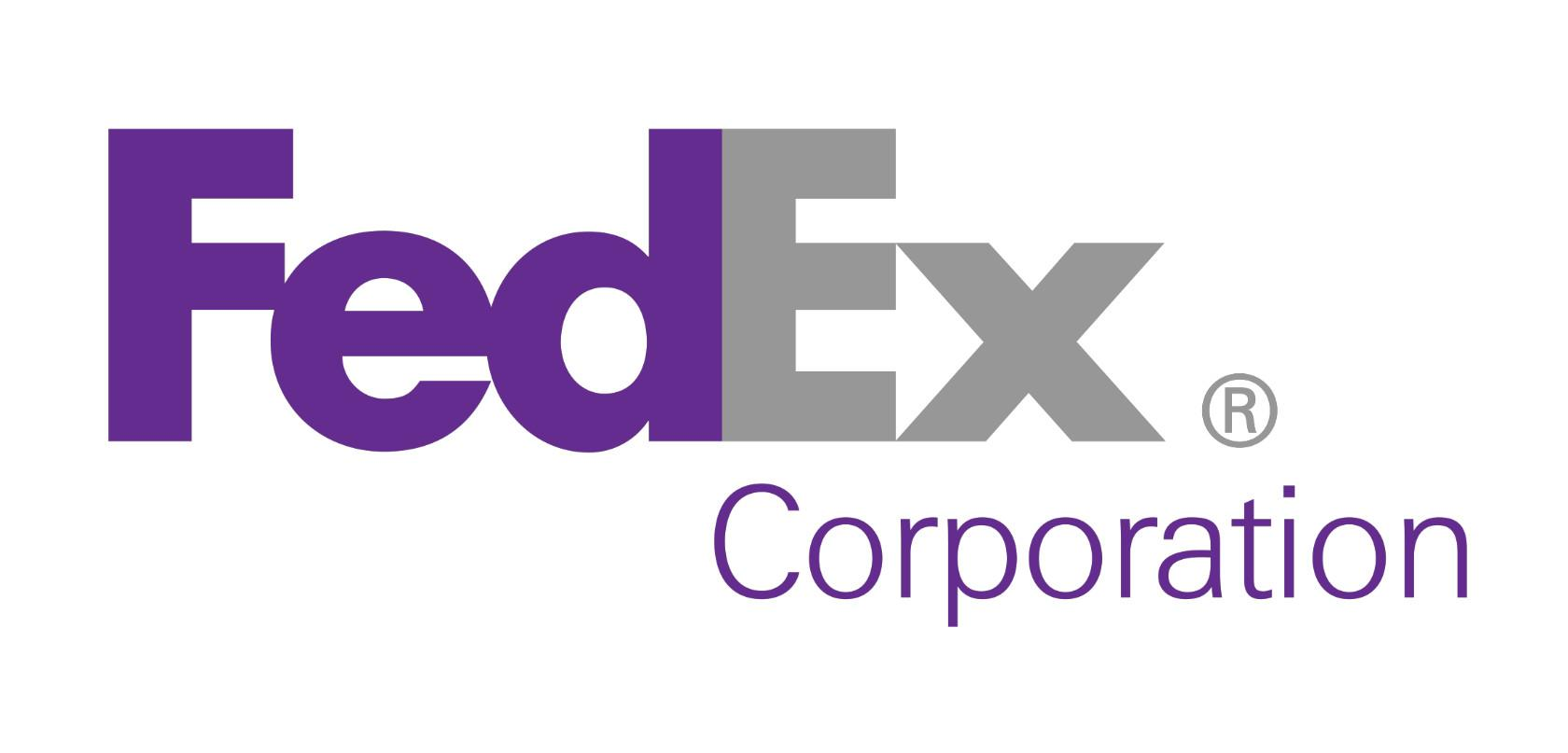 The FedEx logo uses design fundamental white space to create a hidden arrow.