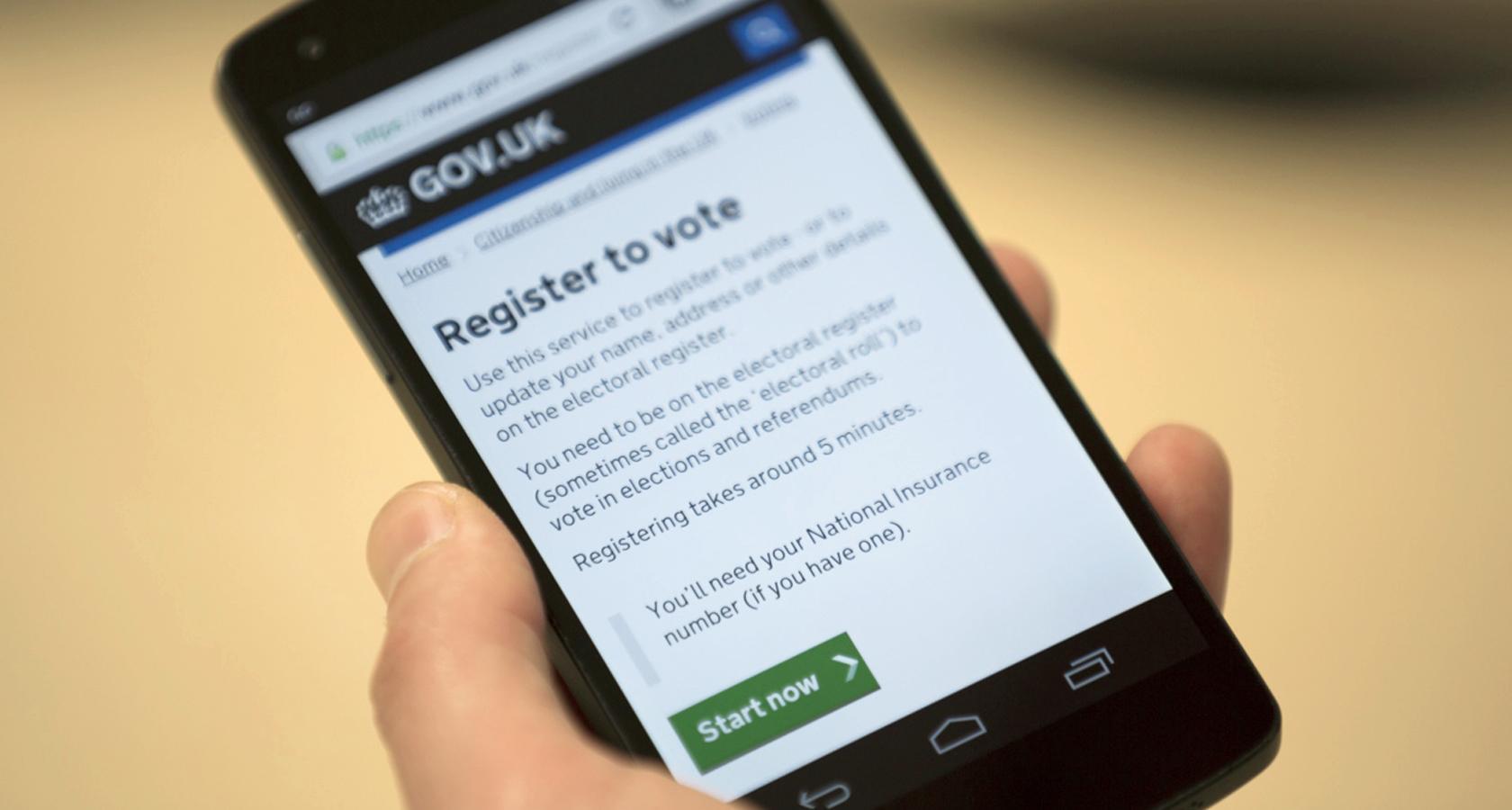 Gov.uk's user interface design principles