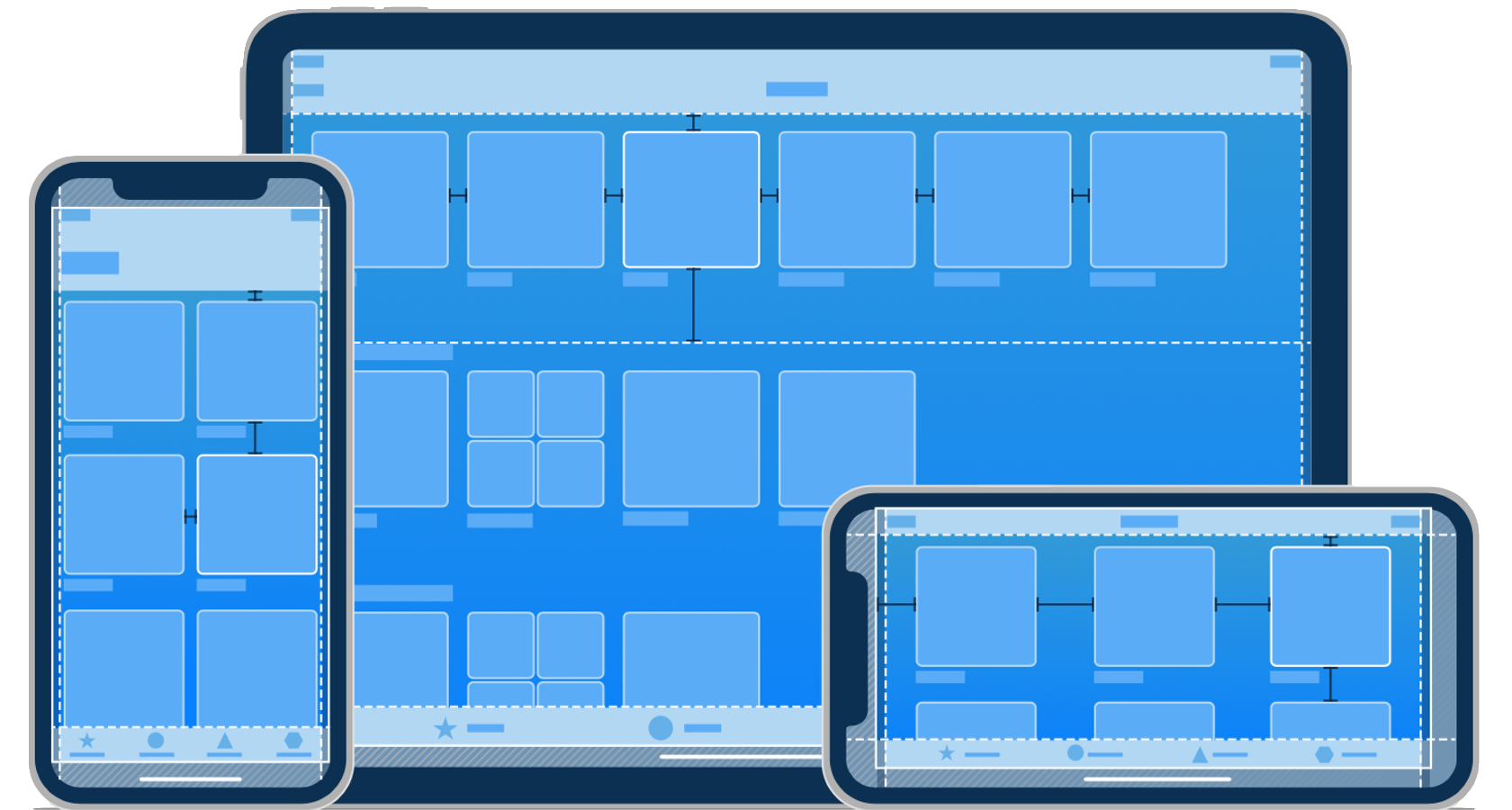 Human Interface Guidelines for mobile design.