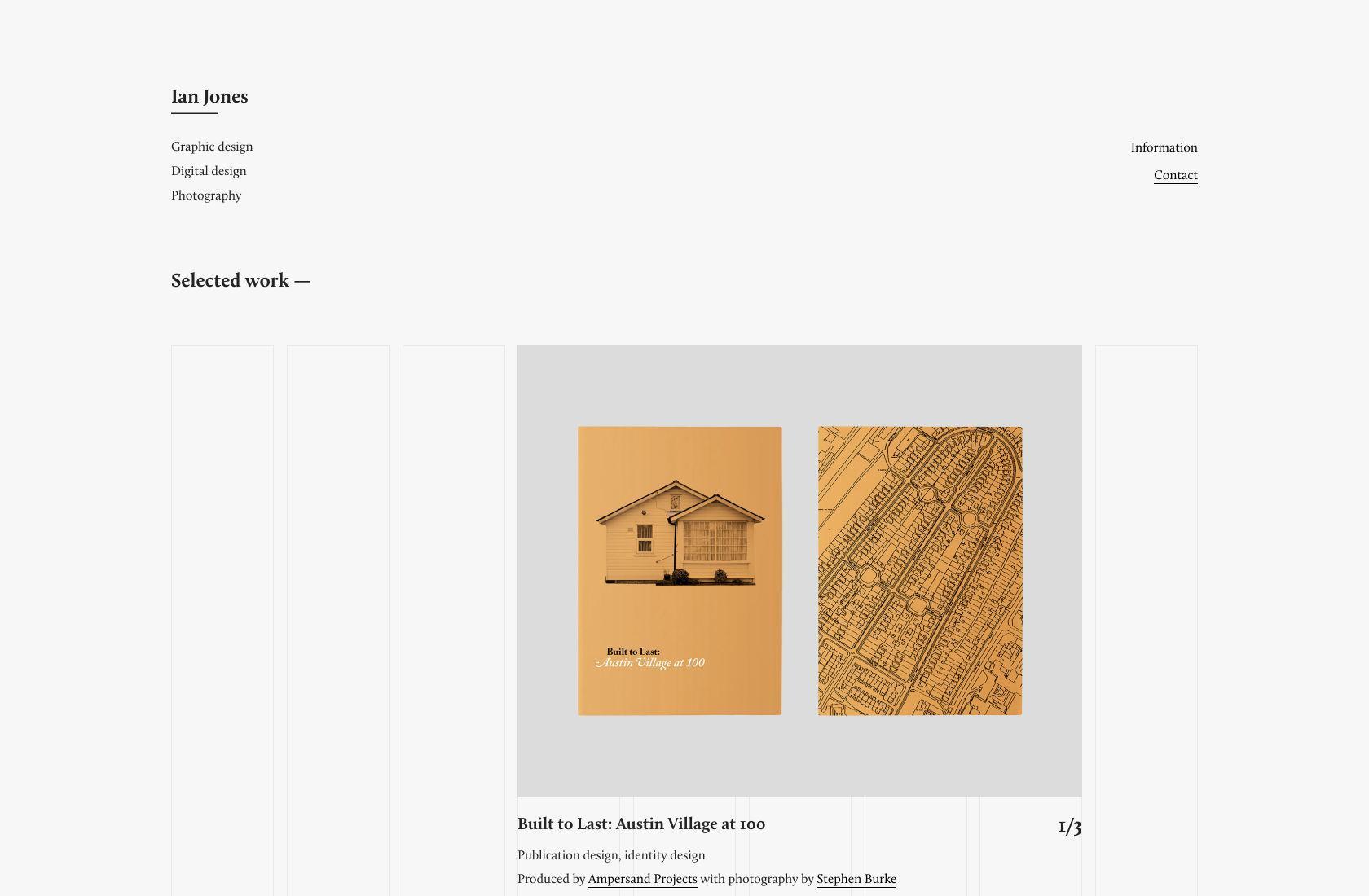 Desain web minimal masih bisa menarik secara visual.