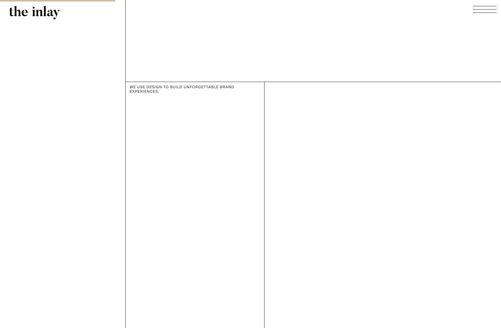 Contoh desain web UX super minimalis.