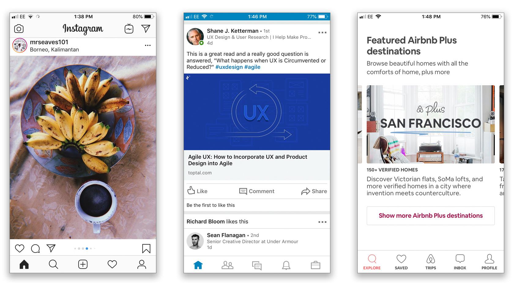 Mobile UX design trends