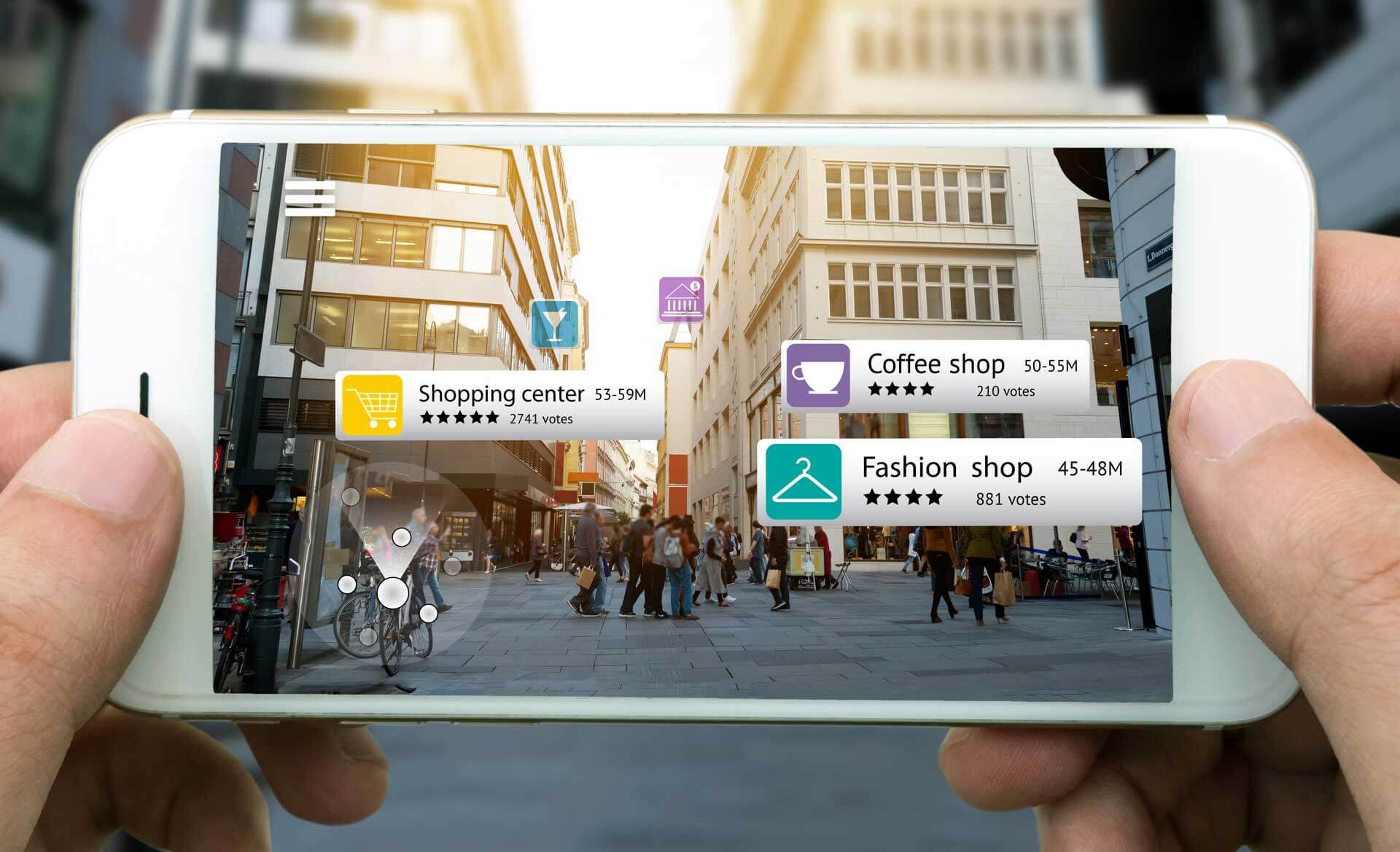 Augmented reality is one of the latest UX design trends