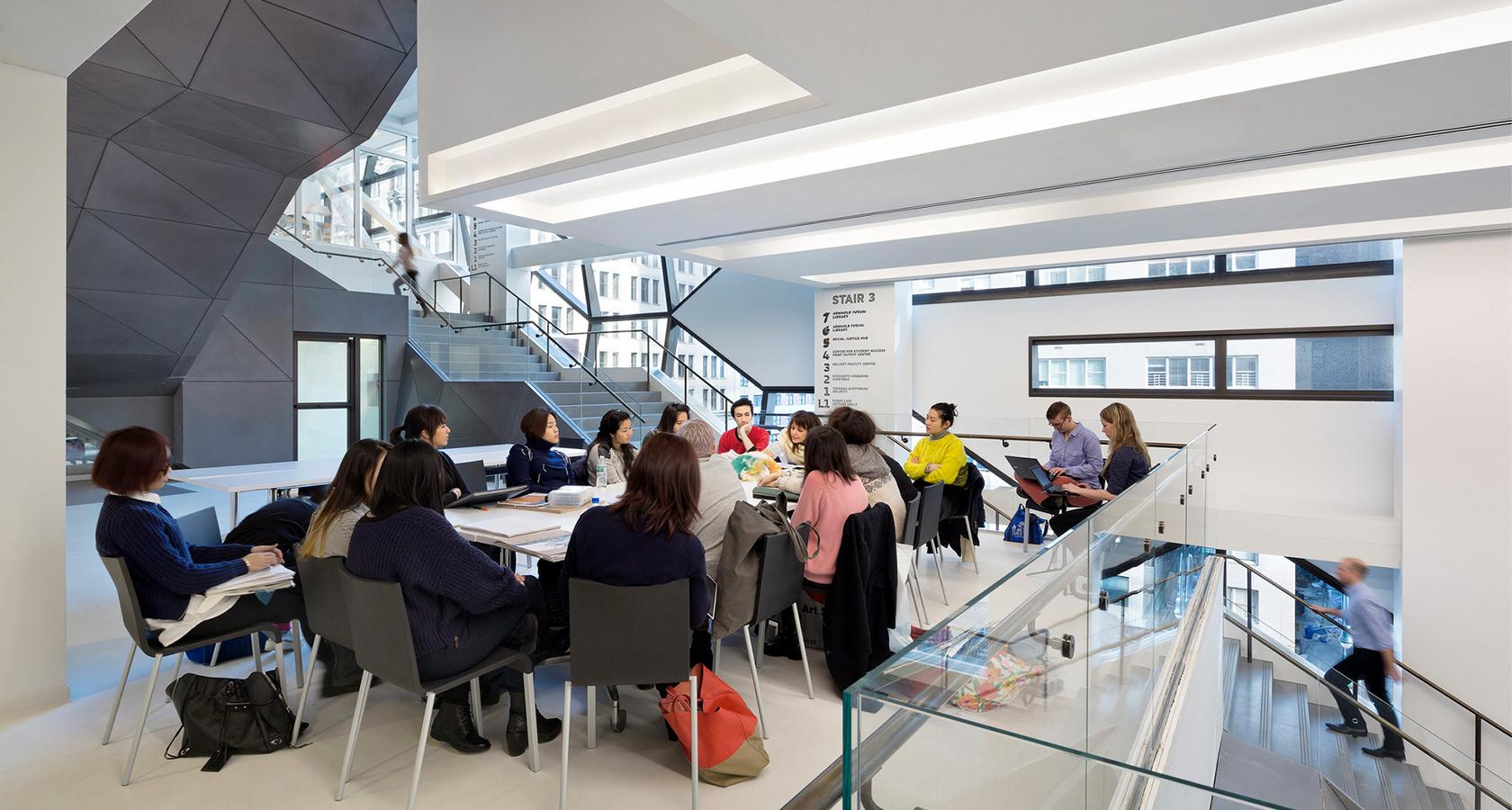 The New School is sometimes considered the school of the future for designer education