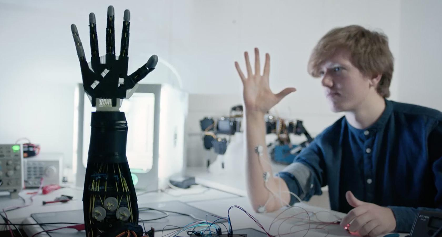 UX education is taken to another level with robotics and design at the RCA.