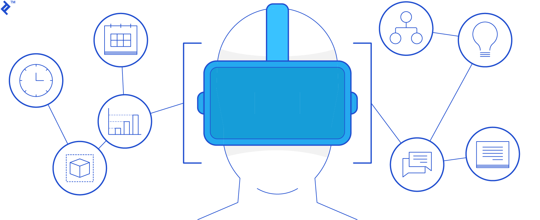 Virtual reality projects, history, and VR project management, all that you need to know.