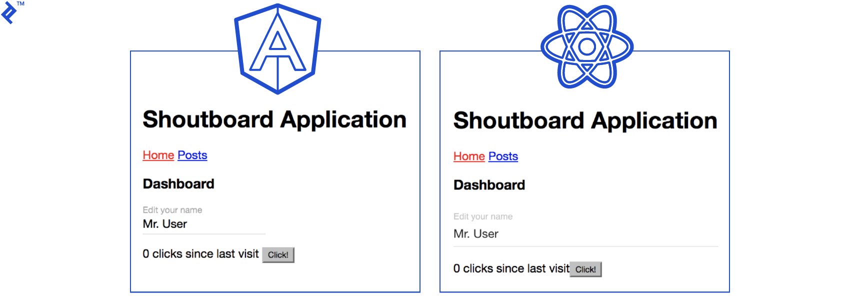 Shoutboard Application