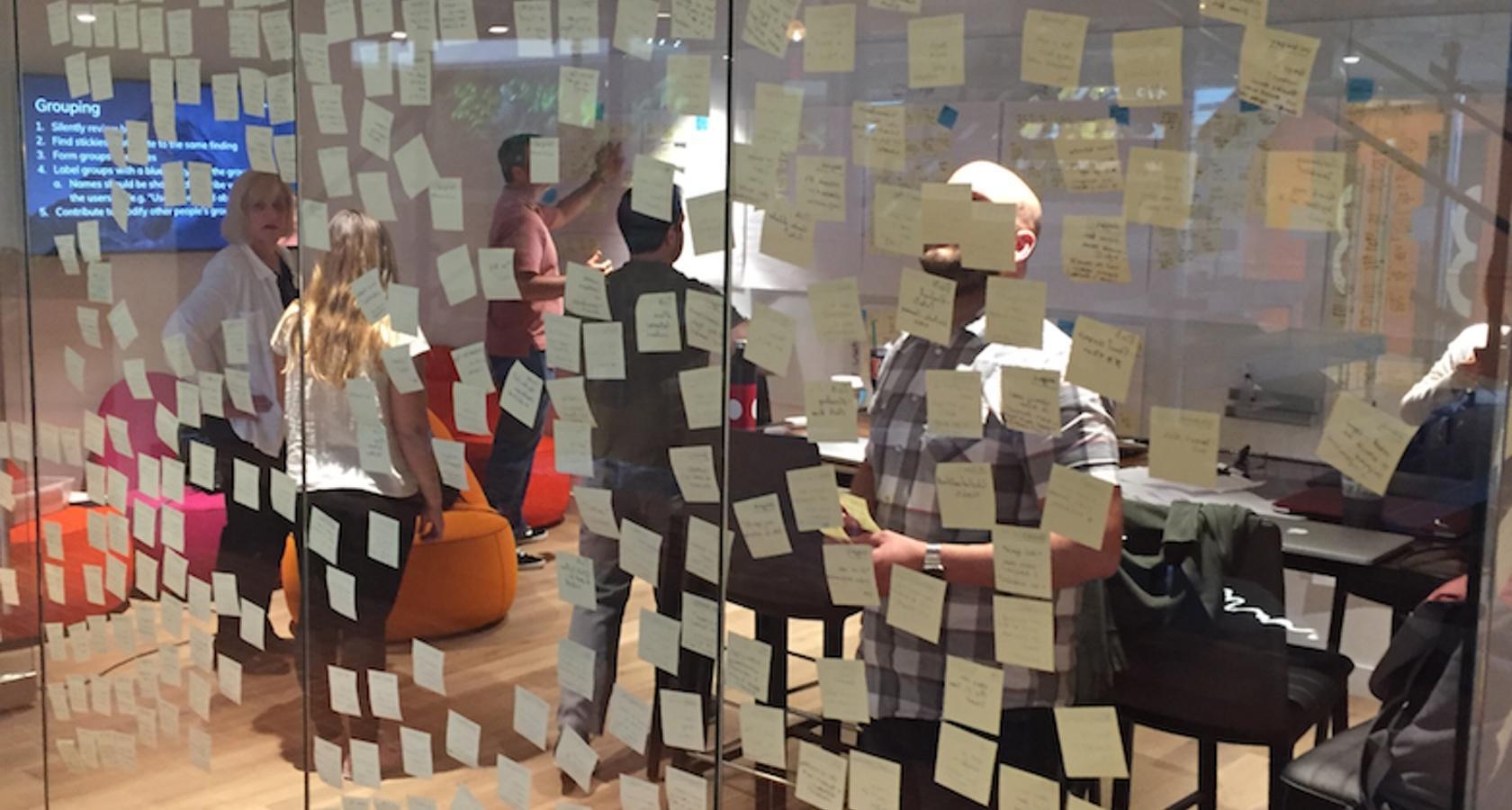 Design thinking ideation process