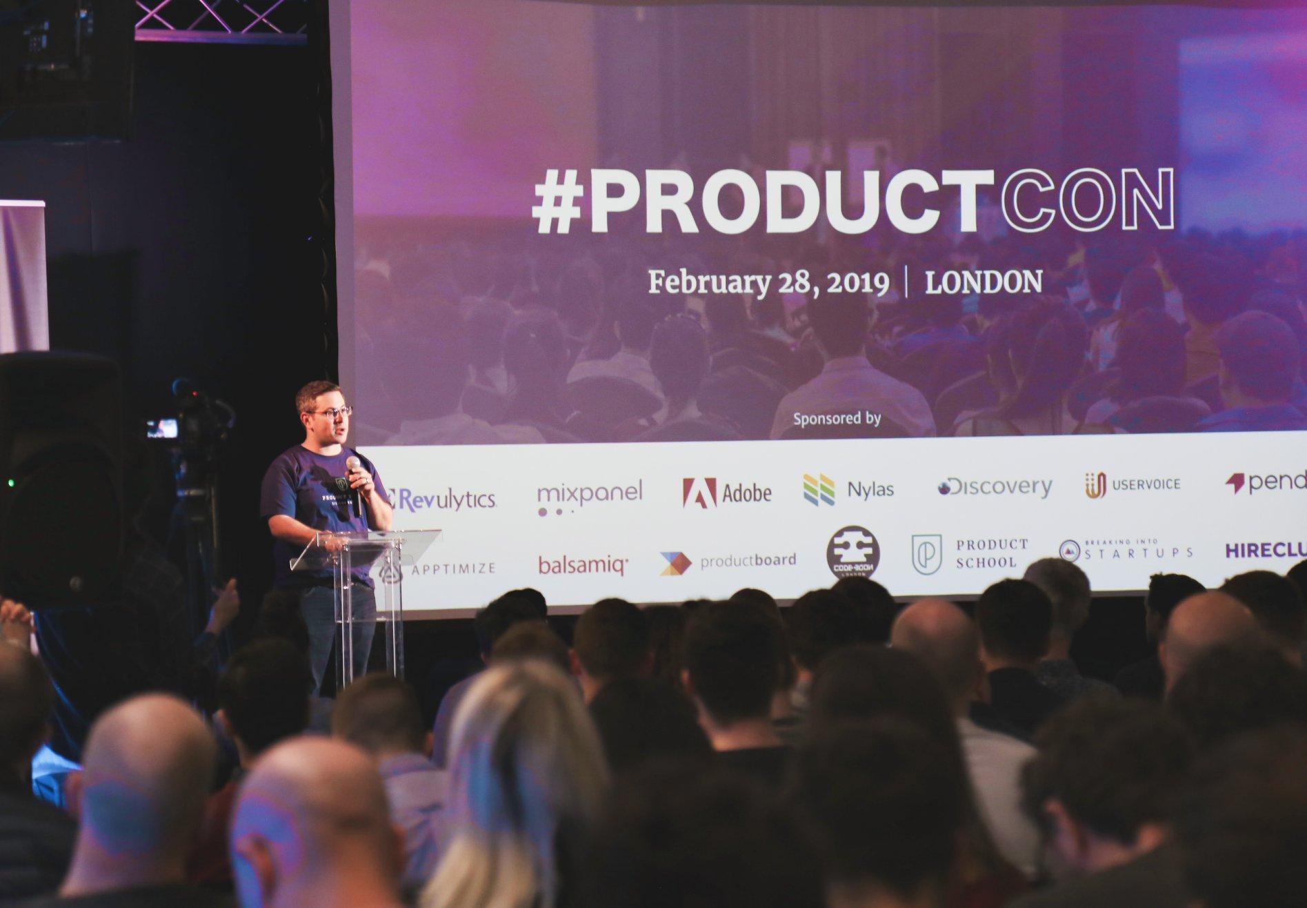 ProductCon conference venue