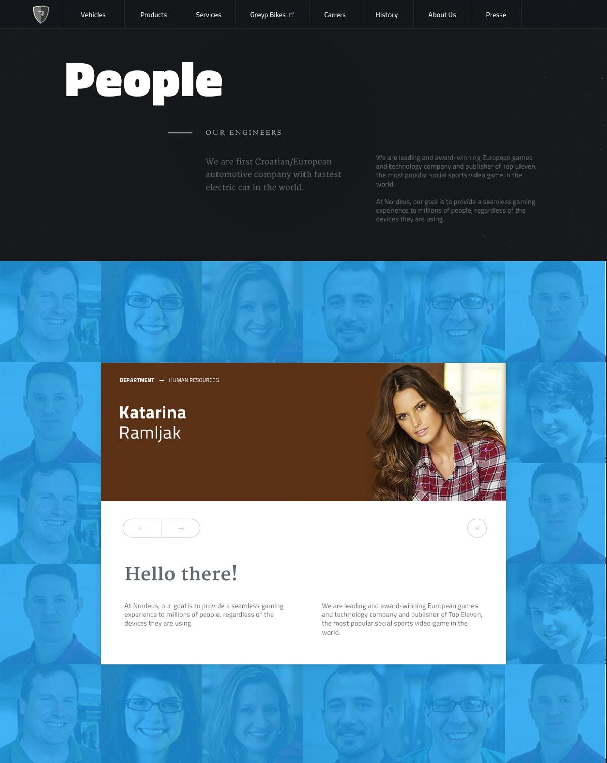 Website redesign case study: About page example